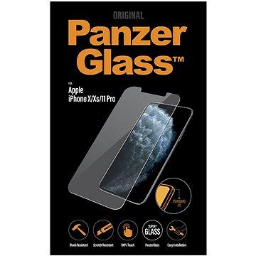 PanzerGlass Standard pro Apple iPhone X/Xs/11 Pro čiré - Ochranné sklo