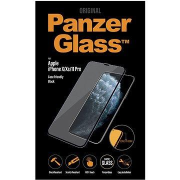 PanzerGlass Edge-to-Edge pro Apple iPhone X/Xs/11 Pro černé - Ochranné sklo