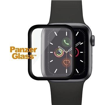 PanzerGlass SmartWatch pro Apple Watch 4/5/6/SE 40 mm černé celolepené - Ochranné sklo