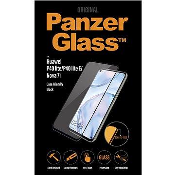 PanzerGlass Edge-to-Edge pro Huawei P40 lite/P40 lite E/Nova 7i černé - Ochranné sklo