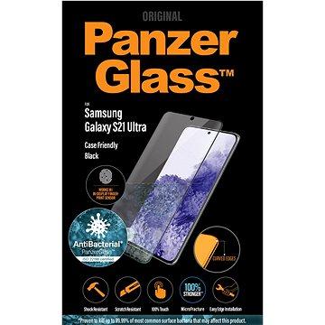 PanzerGlass Premium Antibacterial pro Samsung Galaxy S21 Ultra (FingerPrint ready) - Ochranné sklo