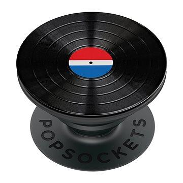 PopSockets PopGrip Gen.2, Backspin Aluminum 45 RPM, otáčecí, deska (LP) - Držák na mobilní telefon