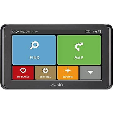 MIO Spirit 8500 Lifetime - GPS navigace