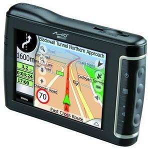MIO DigiWalker C710 GPS/ 2GB/ 24 map/ SAMSUNG S3C2440-400/ GPS (SiRF III)/ MMC+SD/ BT/ WinCE 4.2 - Navigace