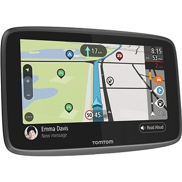 TomTom GO Camper World LIFETIME mapy - GPS navigace