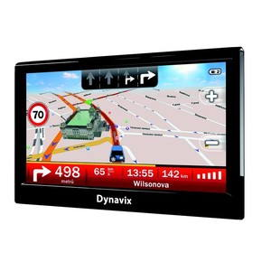Dynavix Tera Evropa LITE - GPS navigace
