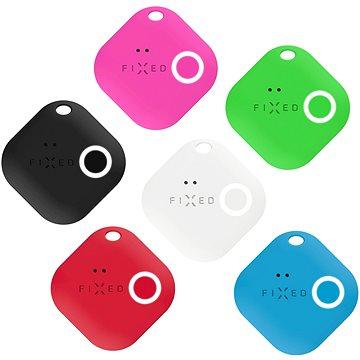 FIXED Smile s motion senzorem 6-PACK (černý, bílý, červený, modrý, zelený, růžový) - Bluetooth lokalizační čip