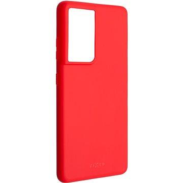 FIXED Story pro Samsung Galaxy S21 Ultra červený - Kryt na mobil