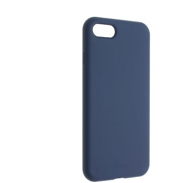 FIXEDFlowLiquid Silicon case proAppleiPhone7/8/SE(2020)modrý - Kryt na mobil