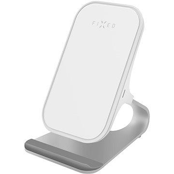 FIXED Frame Wireless 15W bílý - Nabíjecí stojánek