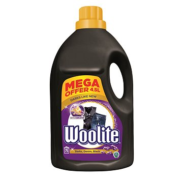 WOOLITE Dark With Keratin 4,5 l (75 praní) - Prací gel