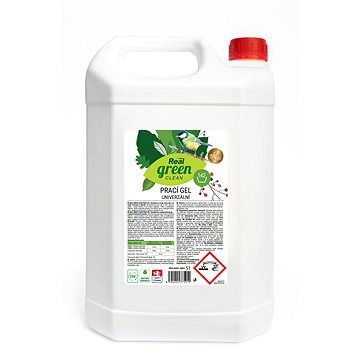 REAL GREEN prací gel 5 l (142 praní) - Eko prací gel