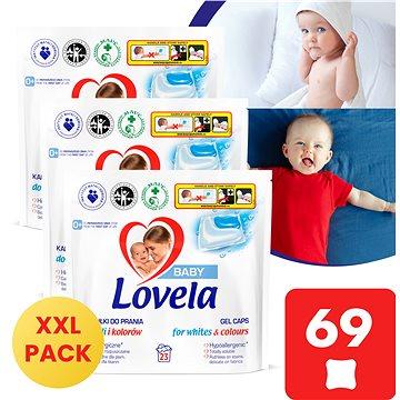 LOVELA Baby gelové kapsle na praní 3× 23 ks - Kapsle na praní