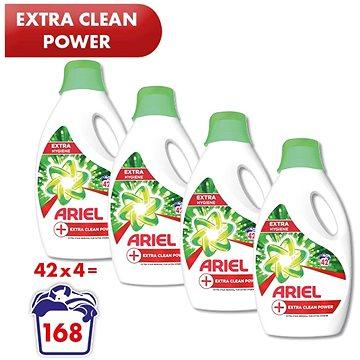 ARIEL Extra Clean Power 4× 2,31 l (168 praní) - Prací gel