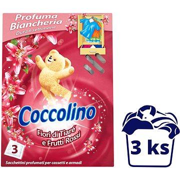 COCCOLINO Frutti Rossi vůně do skříně 3 ks - Vůně do skříně