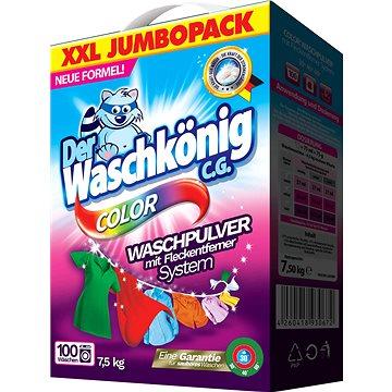 DER WASCHKÖNIG Color 7,5 kg (100 praní) - Prací prášek