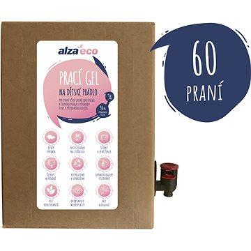 AlzaEco prací gel na dětské prádlo 3 l (60 praní) - Eko prací gel