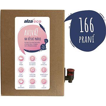 AlzaEco aviváž na dětské prádlo 5 l (165 praní) - Eko aviváž