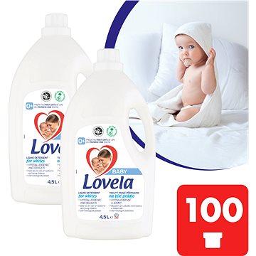 LOVELA Baby na bílé prádlo 2 × 4,5 l (100 praní) - Prací gel