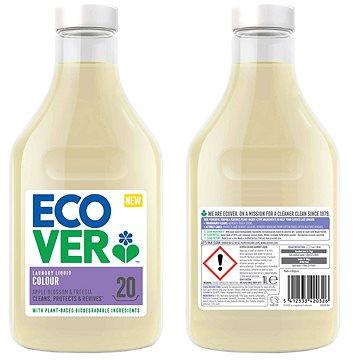 ECOVER Laundry Liquid Color 1 l (20 praní) - Eko prací gel