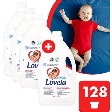 LOVELA Baby na barevné prádlo 4× 2,9 l (128 praní) - Prací gel