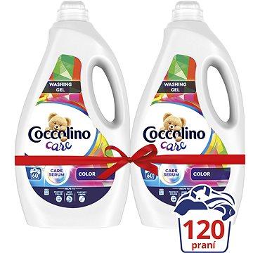 COCCOLINO Care Color 2× 2,4 l (120 praní) - Prací gel
