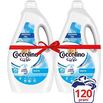 COCCOLINO Care White 2× 2,4 l (120 praní) - Prací gel