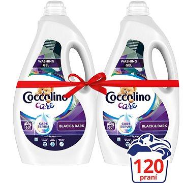 COCCOLINO Care Black 2× 2,4 l (120 praní) - Prací gel