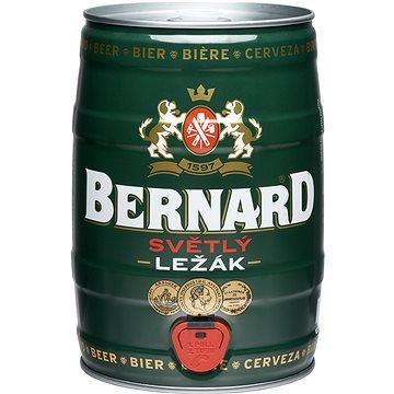 Bernard světlý ležák 11° 5l soudek - Pivo