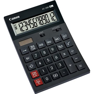 Canon AS-1200 - Kalkulačka