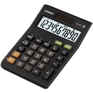 CASIO MS 10 B S černá - Kalkulačka