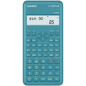 CASIO FX 220 PLUS 2E tyrkysová - Kalkulačka