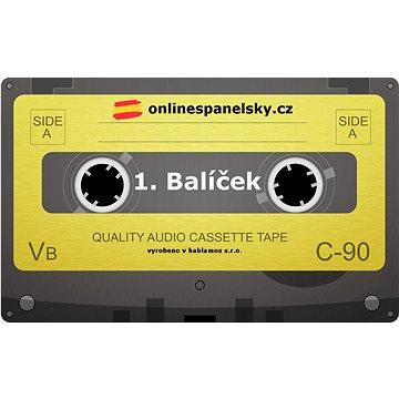 MP3 výuka španělštiny. Poukaz na 1. balíček podcastových lekcí španělštiny. - Voucher: