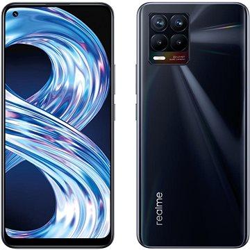Realme 8 DualSIM 6GB/128GB Punk černá - Mobilní telefon
