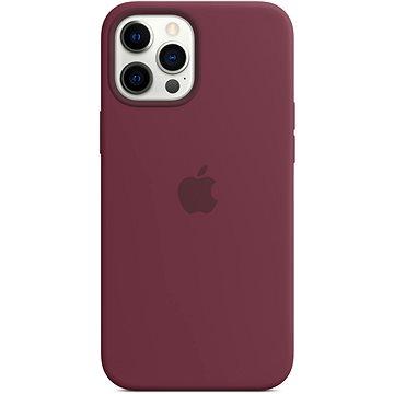 Apple iPhone 12 Pro Max Silikonový kryt s MagSafe švestkový - Kryt na mobil