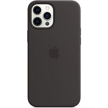 Apple iPhone 12 Pro Max Silikonový kryt s MagSafe černý - Kryt na mobil