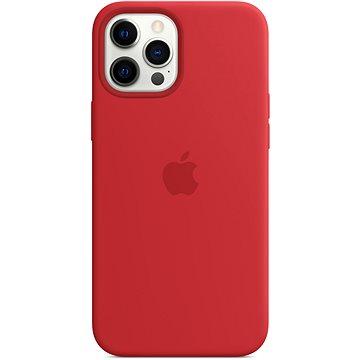 Apple iPhone 12 Pro Max Silikonový kryt s MagSafe (PRODUCT)RED - Kryt na mobil