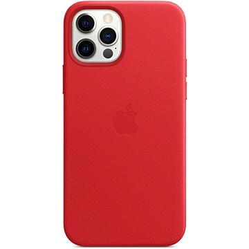 Apple iPhone 12 a 12 Pro Kožený kryt s MagSafe (PRODUCT)RED - Kryt na mobil