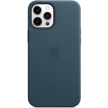 Apple iPhone 12 Pro Max Kožený kryt s MagSafe baltsky modrý - Kryt na mobil