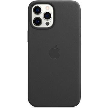 Apple iPhone 12 Pro Max Kožený kryt s MagSafe černý - Kryt na mobil