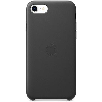 Apple iPhone SE 2020 kožený kryt černý - Kryt na mobil