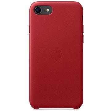 Apple iPhone SE 2020 kožený kryt (PRODUCT) RED - Kryt na mobil