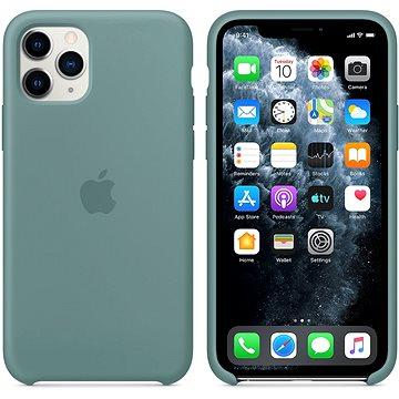 Apple iPhone 11 Pro silikonový kryt kaktusově zelený - Kryt na mobil