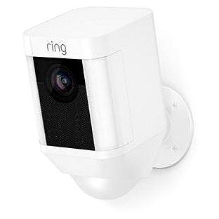 Ring Spotlight Cam Battery White - IP kamera