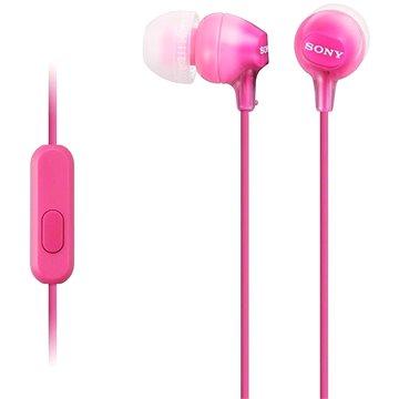 Sony MDR-EX15AP růžová - Sluchátka
