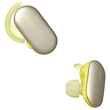 Sony WF-SP900 žlutá - Bezdrátová sluchátka