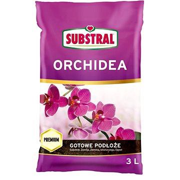 SUBSTRAL Substrát pro orchideje 3l - Substrát