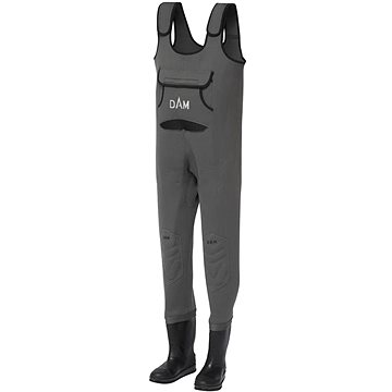 DAM Dryzone Neoprene Chest Wader Cleated Sole Velikost 44/45 - Prsačky