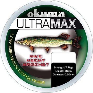 Okuma Ultramax Pike 0,40mm 26lbs 12kg 385m Green - Vlasec