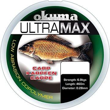 Okuma Ultramax Carp 0,40mm 26lbs 12kg 385m Brown - Vlasec